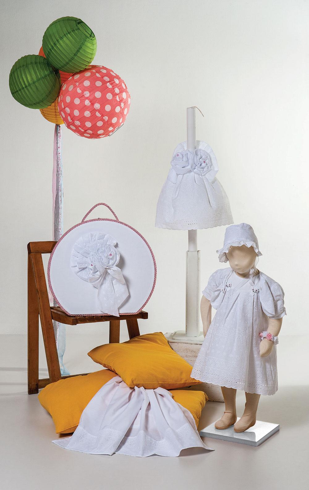 1421 - φορεματάκι μπροντερί διακοσμημένο με μικρές πεταλούδες και swarowski