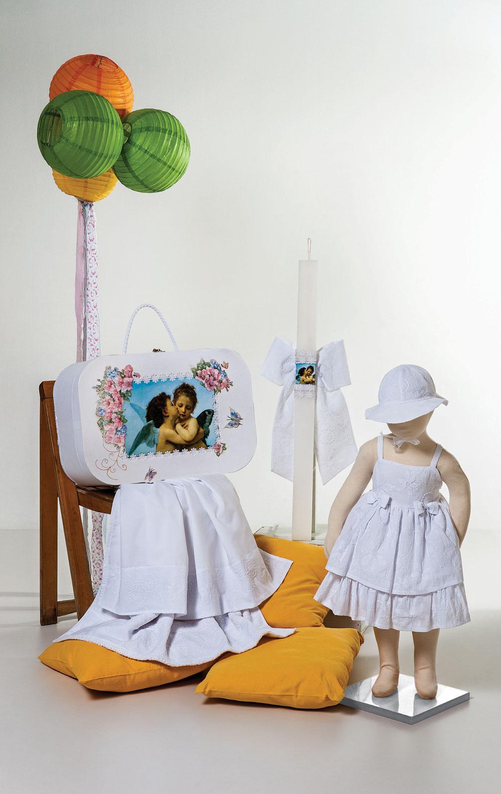 1426 - φορεματάκι μπροντερί με ανάγλυφες μαργαρίτες