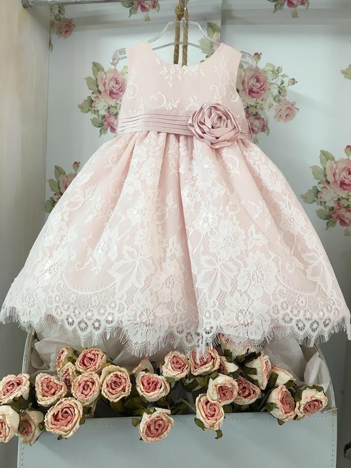 59d457057bf La joie - Χαλακατεβάκη Άννα - Βαπτιστικά Είδη | 1819- Φόρεμα 'Alice ...
